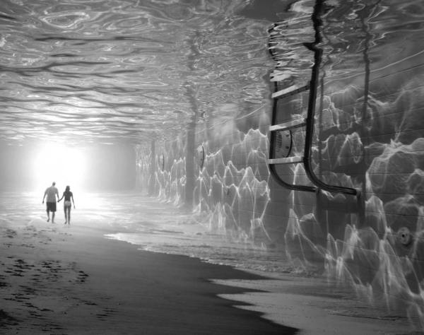 Thomas Barb Surreal Psychedelic Art - Monk