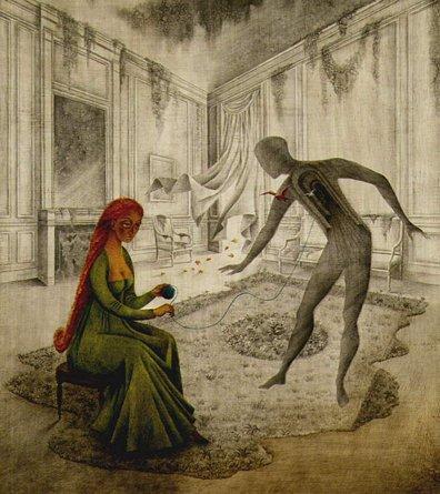 Remedios Varo  Surreal Goddess of Psychedelic Art  Third Monk