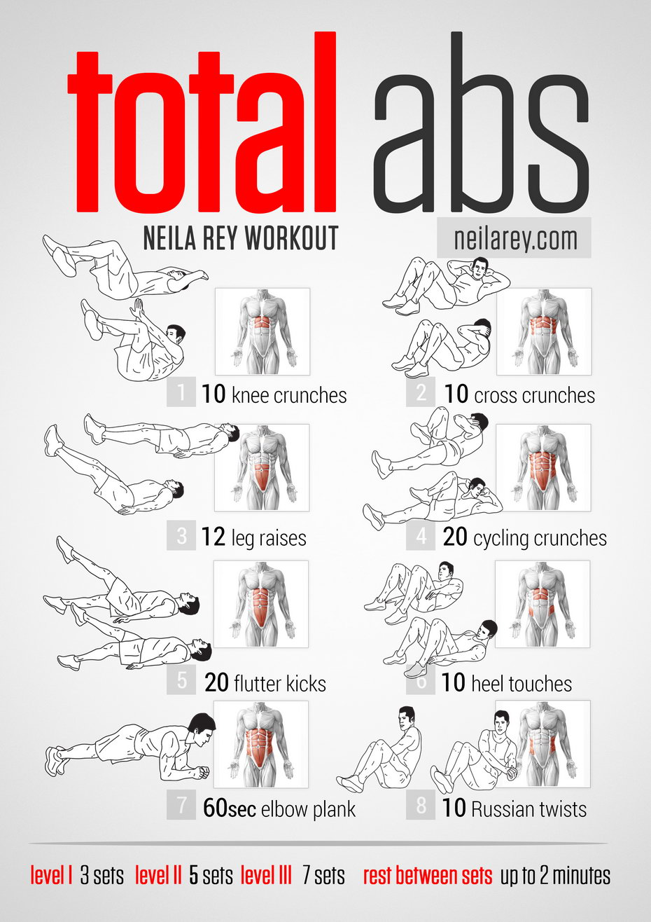 visual workout guides for