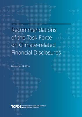 Third Partners Explores The Financial Stability Board Task Force's Recommendations Of The Task Force On Climate-Related Financial Disclosures