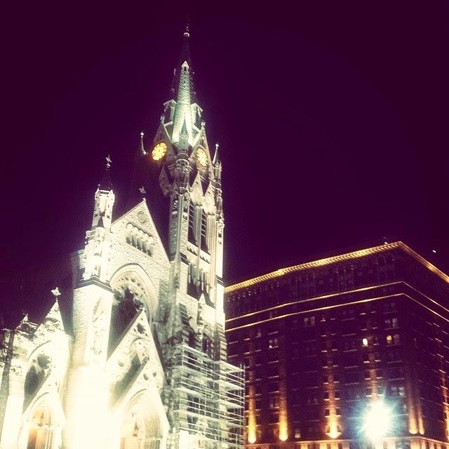 Beautiful St. Louis at Night