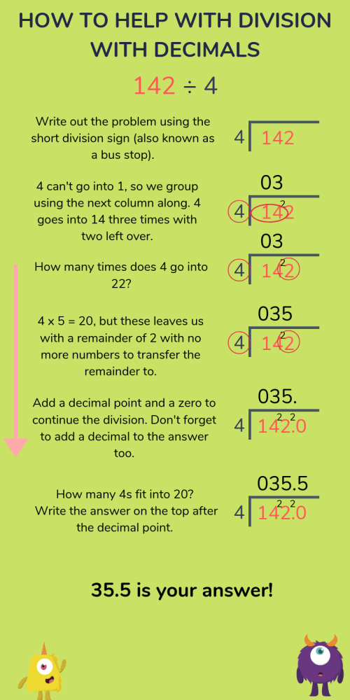 small resolution of Division for Kids: Short Division (Bus Stop Method) \u0026 Long Division  Explained