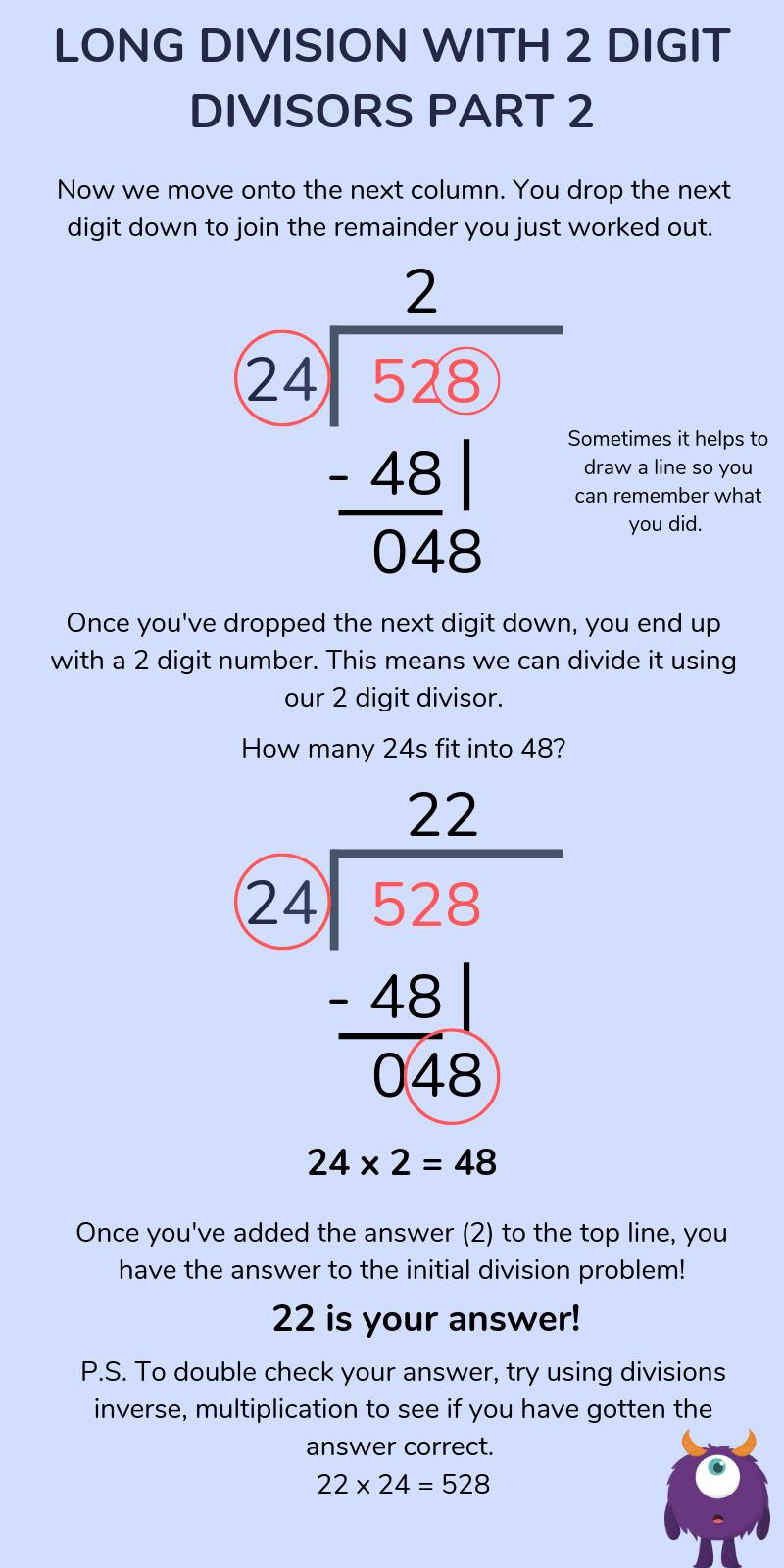 medium resolution of Division for Kids: Short Division (Bus Stop Method) \u0026 Long Division  Explained