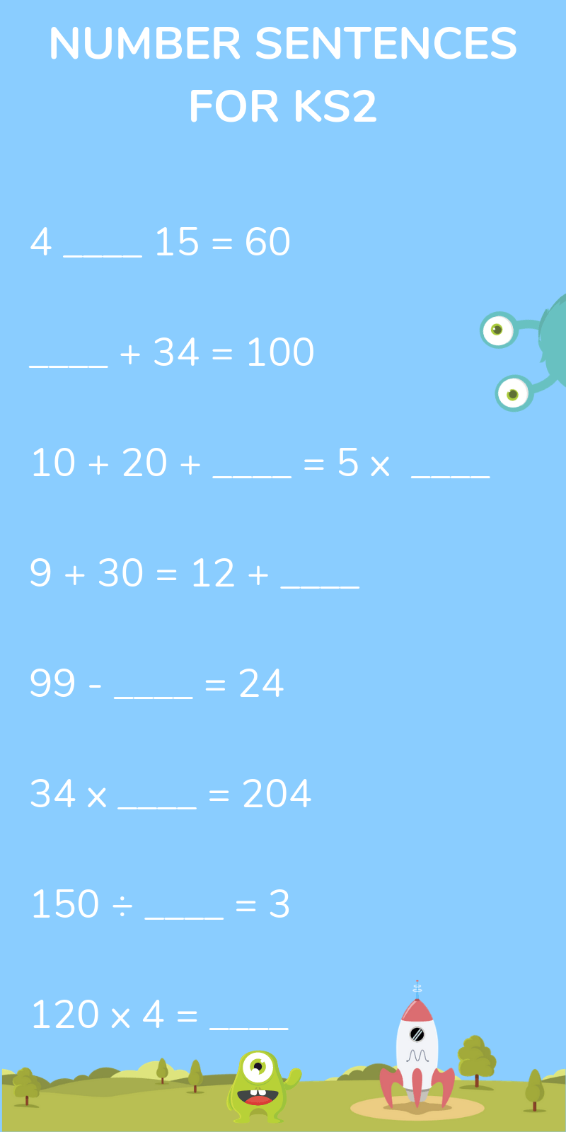 medium resolution of What Is A Number Sentence: Explained For Primary Parents And Kids!
