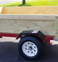 harbor freight folding trailer box with removable sides third stall woodworking [ 3689 x 1653 Pixel ]