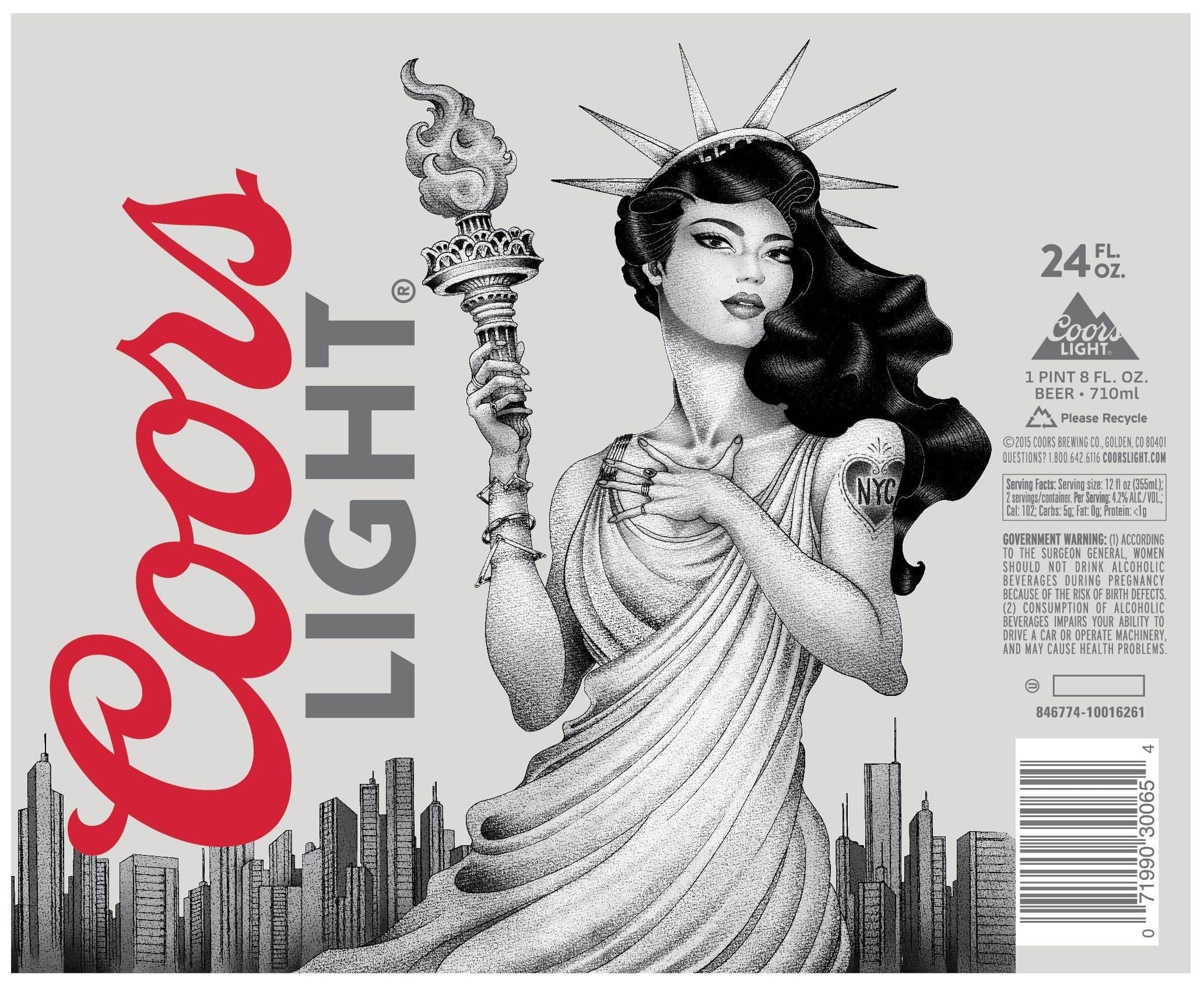 coors light gets artsy too with new