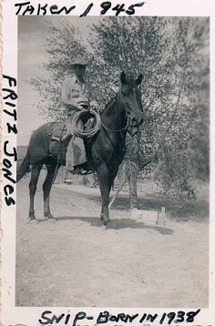 Fritz Jones on Snip 1945