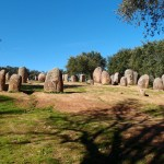 The Almendres Cromlech Megalith