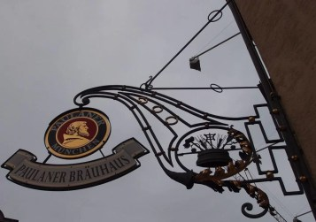 Paulaner Brauhaus sign