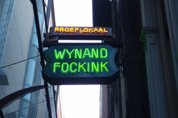 wynand fockink neon sign