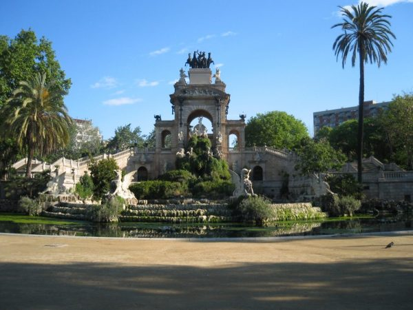 La Cascada fountain. Barcelona
