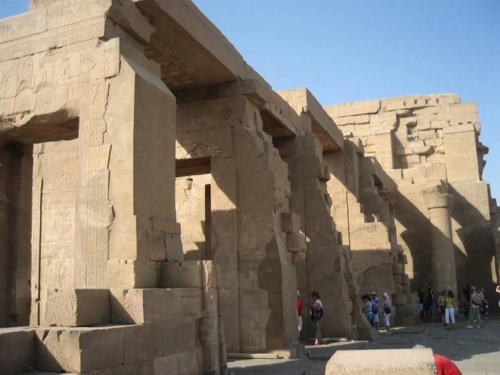 Kom Ombo temple exterior