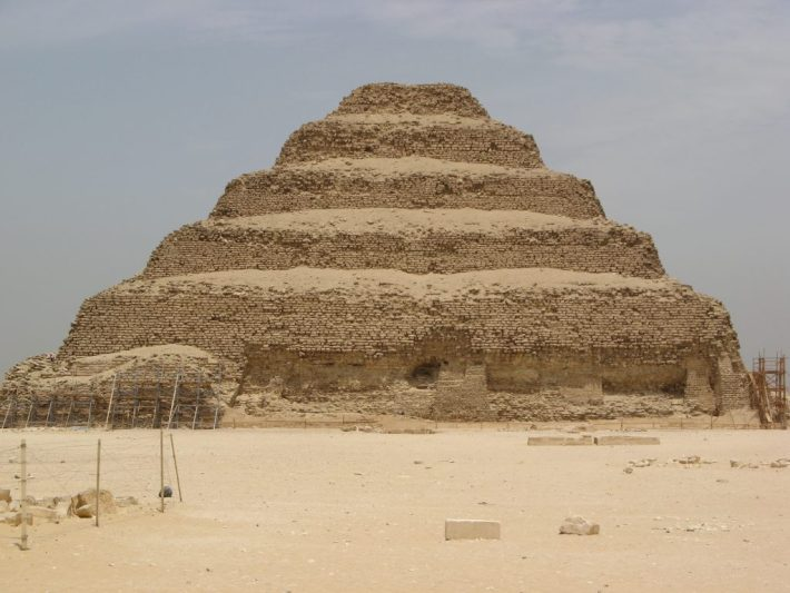 step pyramid of Djoser, Saqqara Egypt