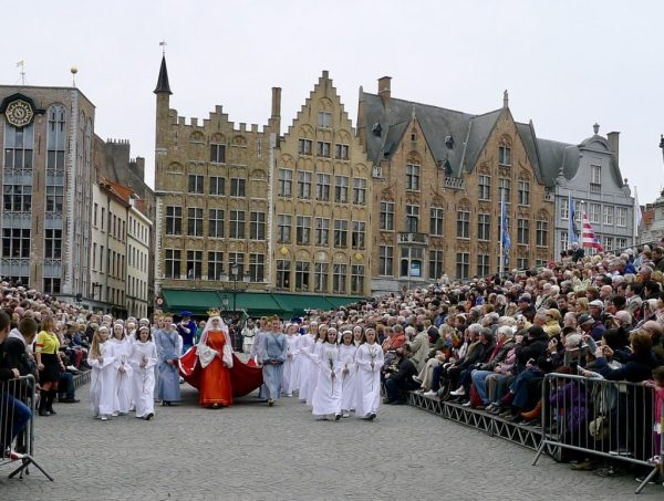 Holy Blood Procession, Bruges, Belgium