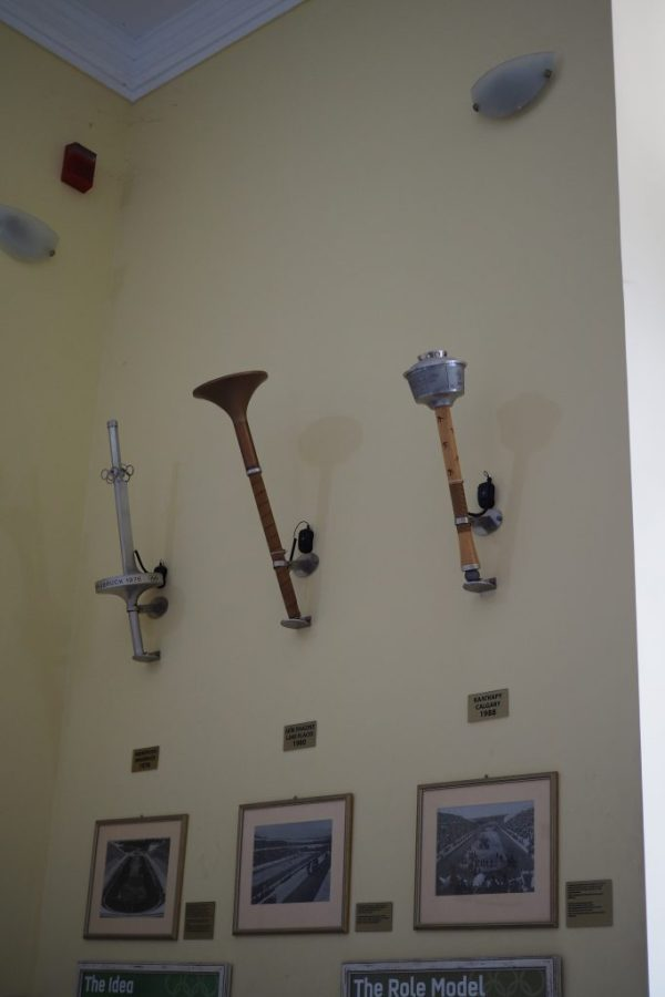 Olympic torches, Greece