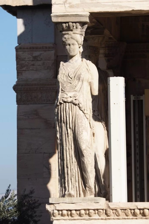Caryatid on the Erechtheum, Greece