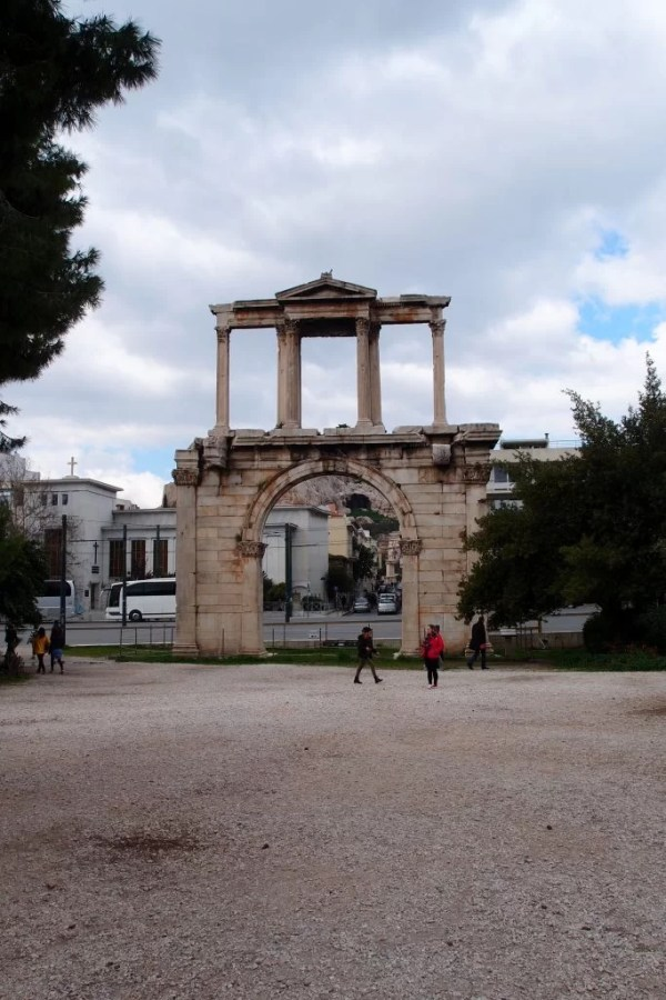 Arch of Hadrian, Athens Greece