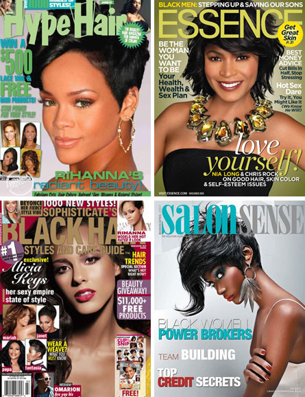 Professional Black Hair Styling Magazines