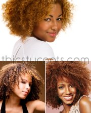 hair color natural african