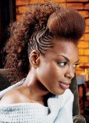 black hair braid styles