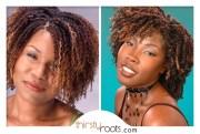two strand twists black hair