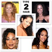 black hair types