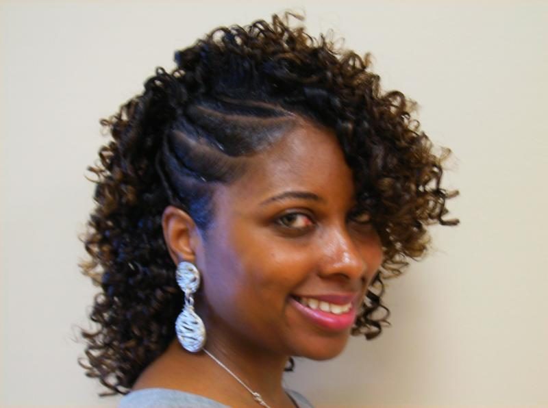 Flat twist and straw set  thirstyrootscom Black Hairstyles