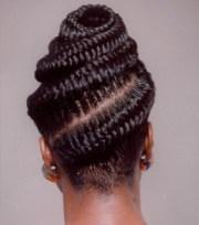 goddess prom braids