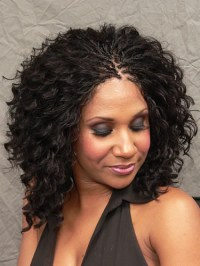 Micro Braids wet and wavy thirstyroots.com: Black