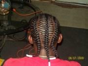 three thick braids men cornrow