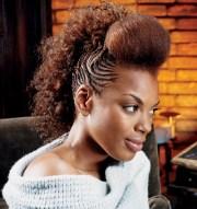 mohawk style braid design