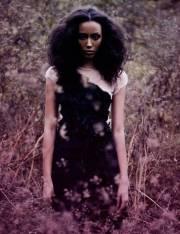 ty states natural hair model wavy