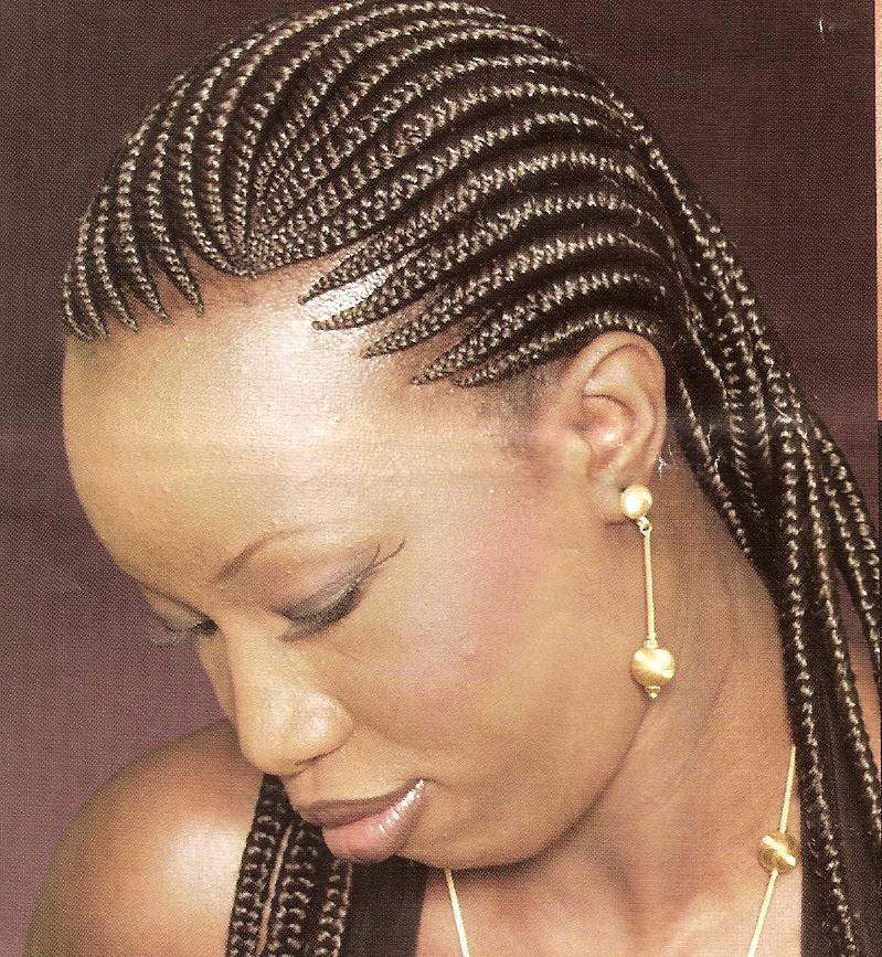 Pictures of cornrow hair braiding designs