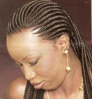 cornrow hair braiding
