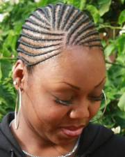 cornrows with short
