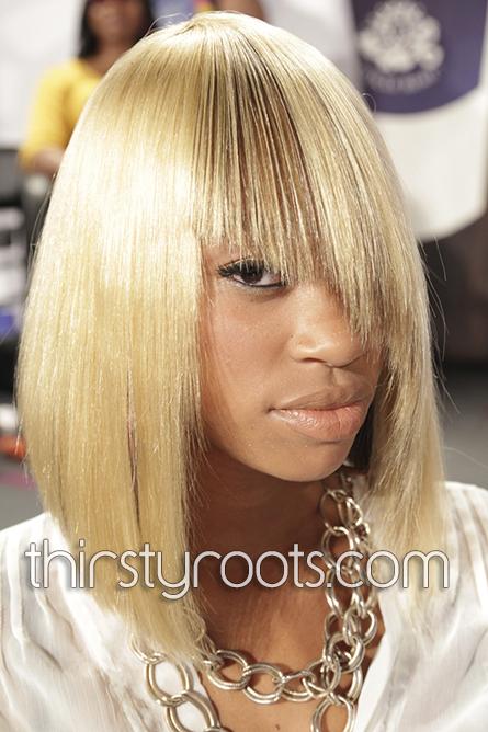 Blonde Black Hairstyles