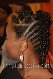 braid and cornrow design