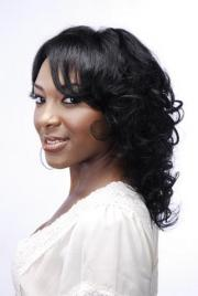 curly black weave hairstyles