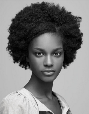 medium afro hairstyle for women  thirstyrootscom Black Hairstyles