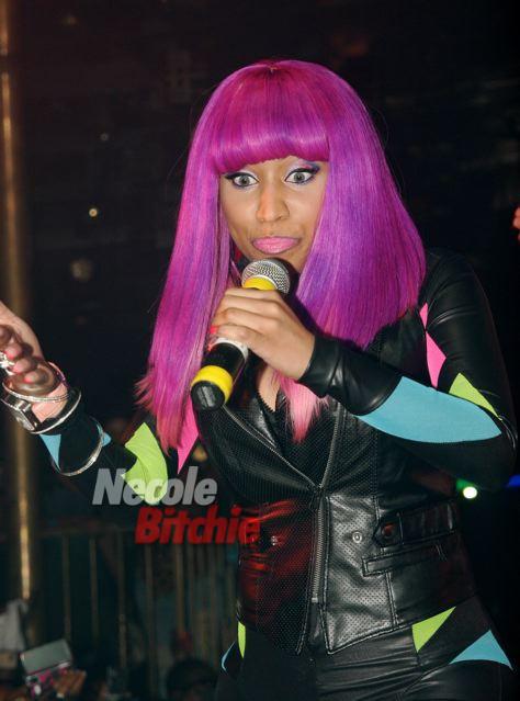 nicki minaj purple and pink wig  thirstyrootscom Black