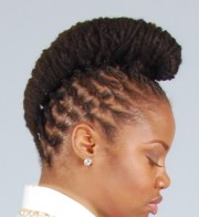 natural hair locs wedding