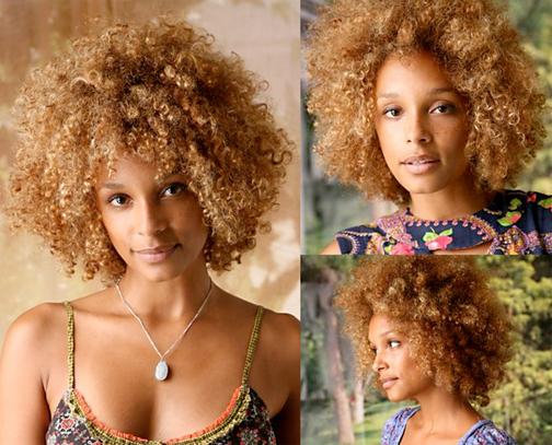 Black Women Natural Blonde Hair Colors