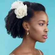natural hair wedding styles