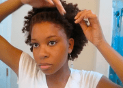 natural hair band with goddess