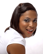hairstyle relaxed hair