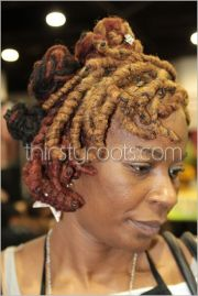 short curly dreadlocks