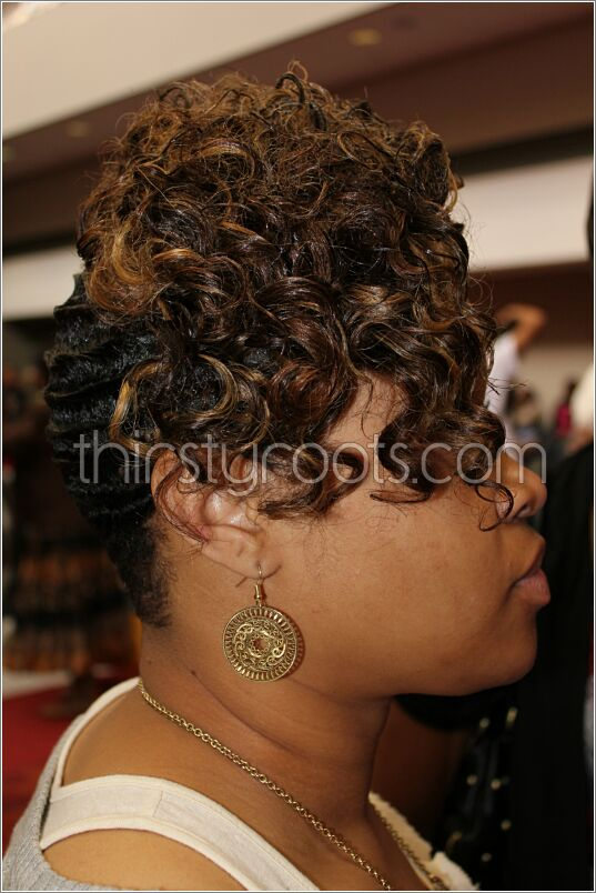 Black Hair Finger Waves Hairstyles