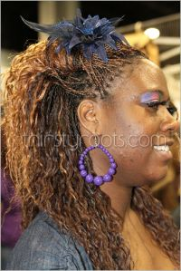 micro braids wet and wavy