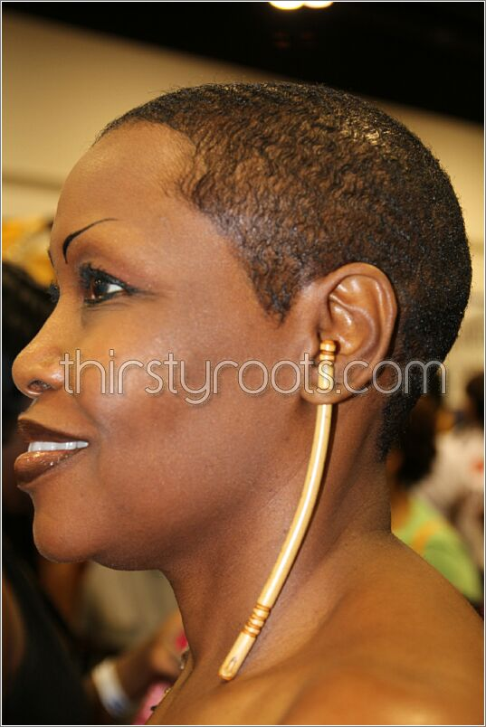 Shaved Haircut For Black Women