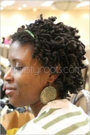 short curly dreads